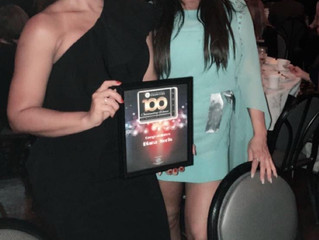 Diana Noris honored as one of the 100 Outstanding women of Broward.
