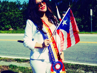 My experience as a Godmother in the Puertorrican parade.