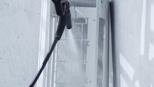 7. 清洗熱交換器以外配件