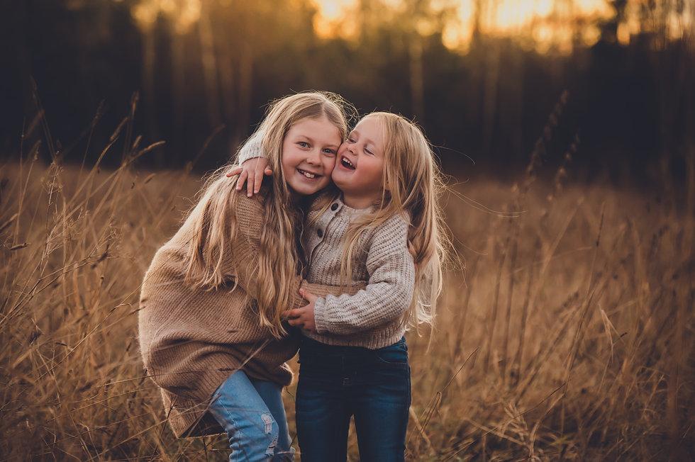 Familiefotografering- søskenfotograferin