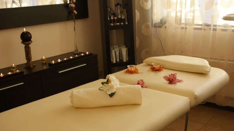 Thai Massage, aroma therapy