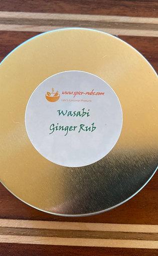 Wasabi Ginger Rub