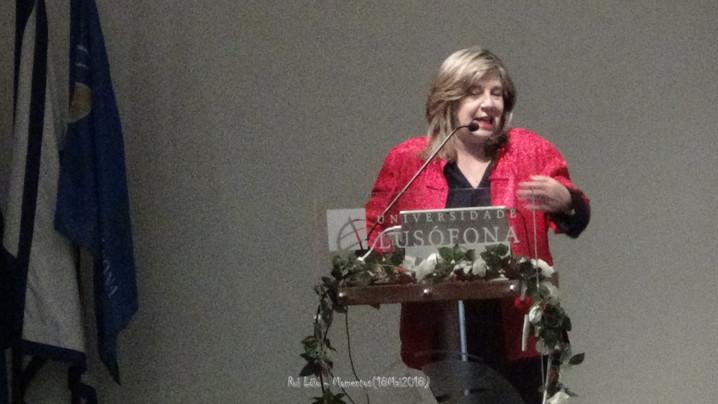 elisa Alfaro, AIPJ-Espanha, psicóloga forense, professora da Universidade de Valencia
