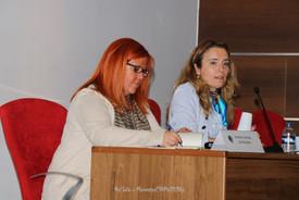 Amélia Correia de Almeida, desembargadora, presidente do Tribunal Judicial da Comarca de Lisboa, e Maria Cunha Louro, psicóloga forense na Junta de freguesia de Santa Clara, professora  de Psicologia na ULHT, vice-presidente da PSIJUS