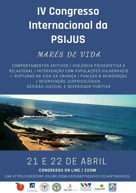 Cartaz IV Congresso Internacional da PSI