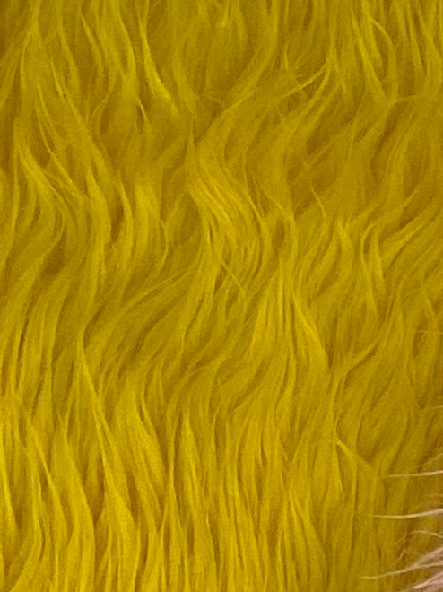 Yellow Fur 200x150cm