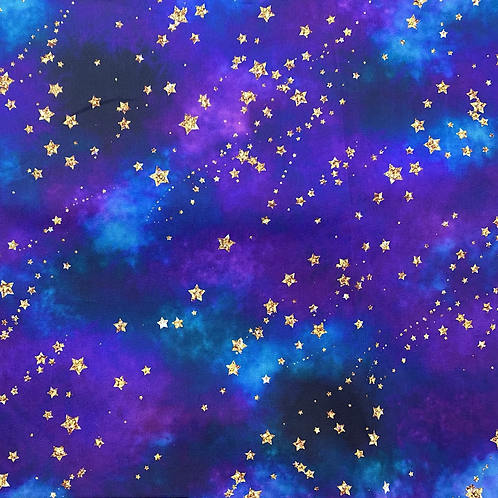 Blue & Purple Galaxy Design