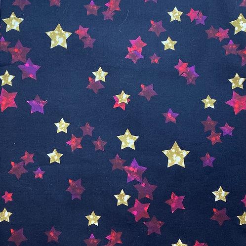 Red & Gold Stars Design