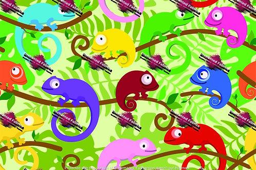 Chameleon Colourful Design 1