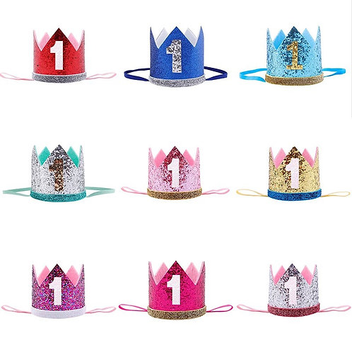 Baby Birthday Crowns