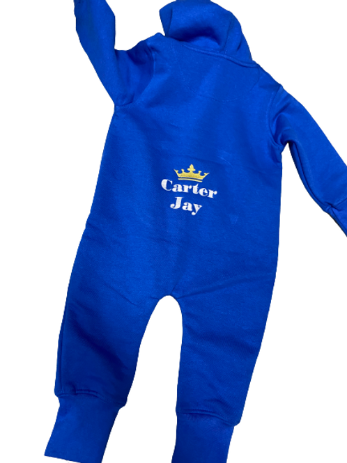 Hooded Infant Romper Suit