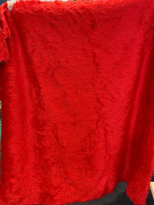 Red Fur 130x150cm