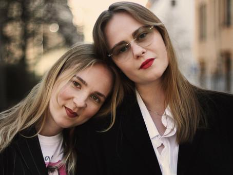 Porträttintervju med Lia Hietala och Hannah Reinikainen