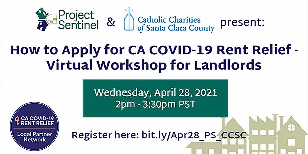 How to Apply for CA COVID-19 Rent Relief - Virtual Workshop for Landlords