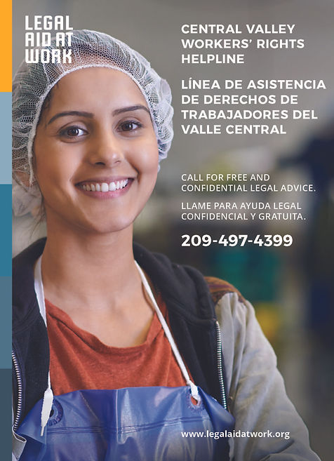 Central Valley Workers' Rights Helpline