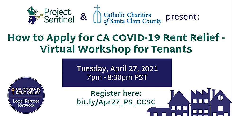 How to Apply for CA COVID-19 Rent Relief - Virtual Workshop for Tenants