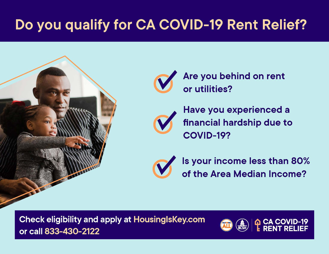 Do I qualify for CA COVID-19 rent relief?