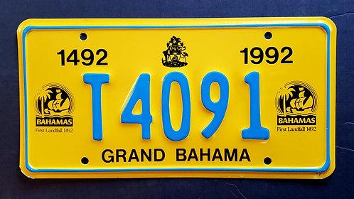 Grand Bahama - 500 Years First Landfall - T4091