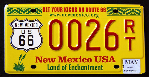NM Route 66 - Get Your Kicks