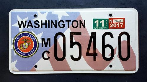 WA United States Marine Corps - USMC - US Flag - MC05460