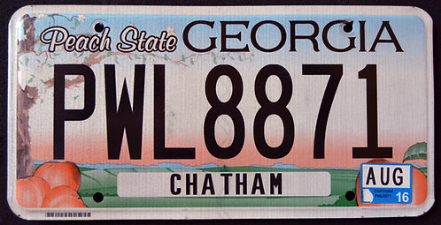 GA Peach State - Chatham County - PWL8871