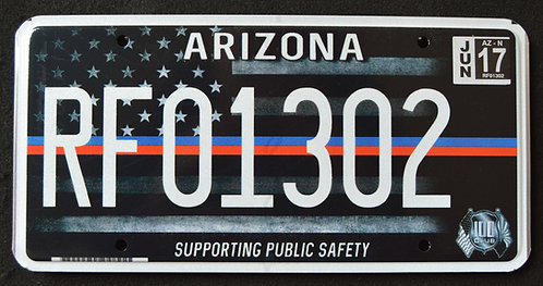 AZ First Responders - Support Public Safety - US Flag - RF01302