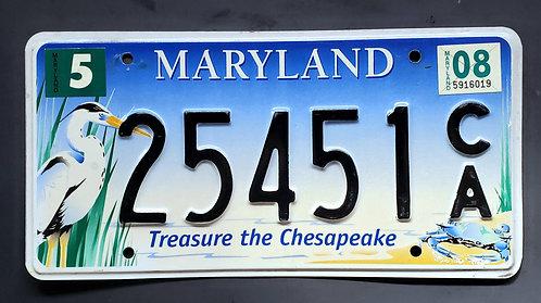 MD Maryland - Wildlife Heron - Bird - Treasure the Chesapeake - 25451CA