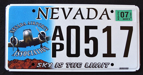 NV Sky Is The Limit - Vintage Airplane