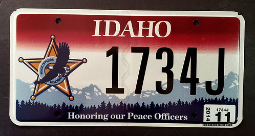 ID Honoring our Peace Officers - Eagle - 1734J