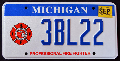 MI Professional Firefighter - 3BL22