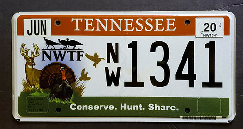 TN Conserve. Hunt. Share - Wildlife Deer Bird Duck Quail - NW1341