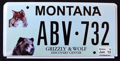MT Wildlife Grizzly & Wolf