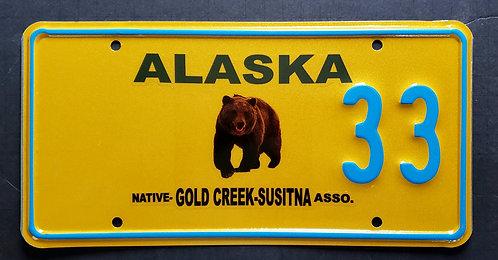 AK Wildlife Grizzly Bear - Gold Creek Susitna Native Association - 33