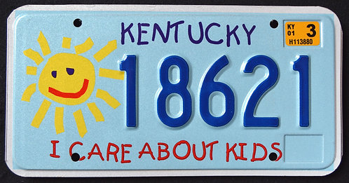 KY I Care about Kids - Children - Sun