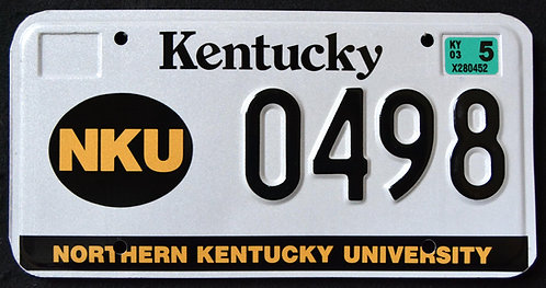 KY Northern Kentucky University - NKU - 0498
