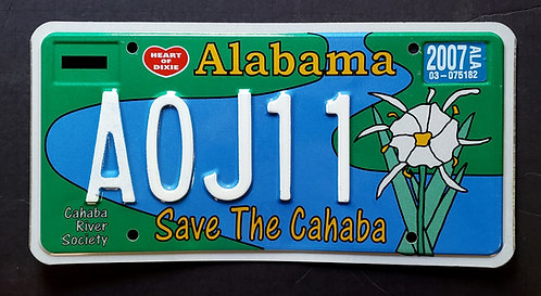 AL Save the Cahaba - Water Lily Flower - A0J11