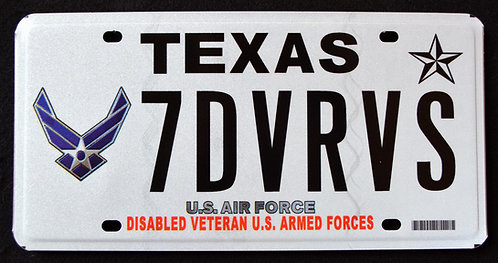 TX U.S. Air Force Veteran - U.S. Armed Forces - 7DVRVS