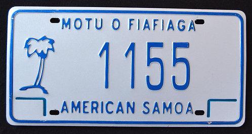 American Samoa - Palm Tree - 1155
