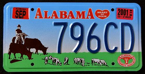 AL Cattlemen`s Association - Heart of Dixie - 796CD