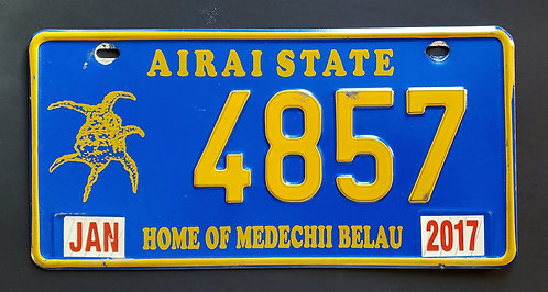 Palau Island - Arai State - Home of the Medechii Belau - 4857
