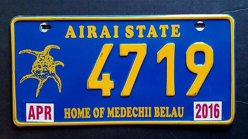 Palau - Airai State - Home of the Medechii Belau -