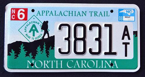 NC Appalachian Trail - Hiker