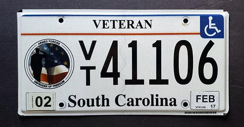 SC South Carolina -  Veteran - Defender of Freedom - VT41106