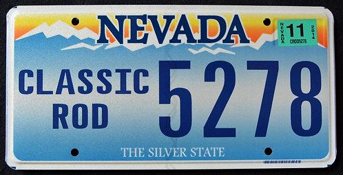 NV Classic Rod - Automobile - Custom Car - Silver State - 5278