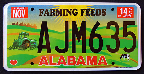 AL Agriculture - Farming Feeds - Tractor - AJM635