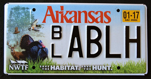 AR Wildlife Turkey - Bird - Save The Habitat - Hunt -BLABLH
