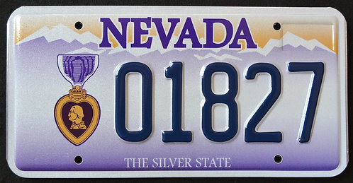 NV Purple Heart Veteran - Combat Wounded - 01827