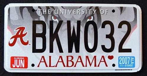 AL University Of Alabama - Wildlife Elephant - BKW 032