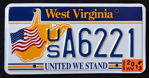 WV United We Stand - US Flag
