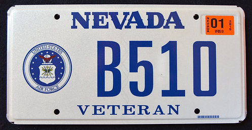 NV Veteran - United States Air Force - B510